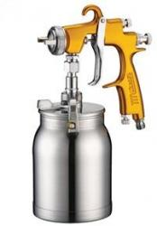 LVLP Suction Feed Spray Gun Star New Century EVOT 2000 V3 LVLP SLV2000F-183S 1.8mm Setup