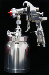 AZ1HTE25C AZ1HTE Air Gunsa Suction Spray Gun Iwata Pot